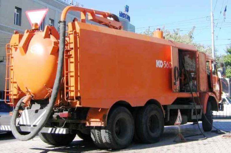 Каналопромывочная машина КО-560